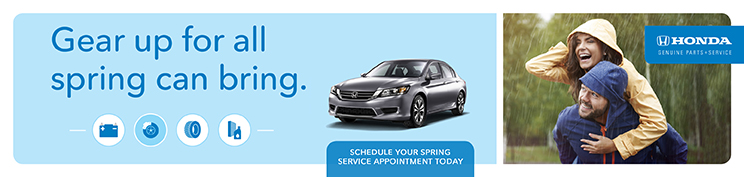Service Offers Spring Banner