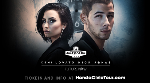 2016 Honda Civic Tour with Demi Lovato & Nick Jonas