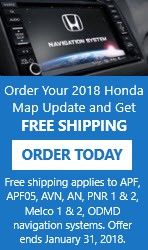 HONDA OWNERS NAVIGATION SYSTEM MAP