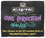 OneDirection Honda Civic Tour
